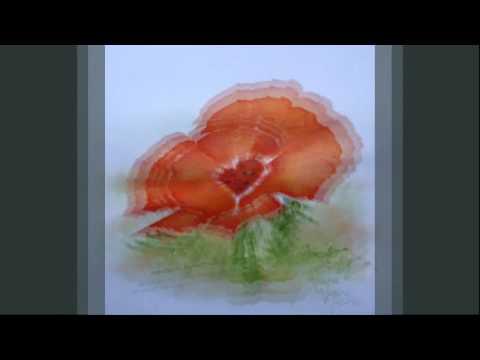 Aquarelles, acryliques et pastels (Annie Bellenger Subra) - Créations du 2ème semestre 2010