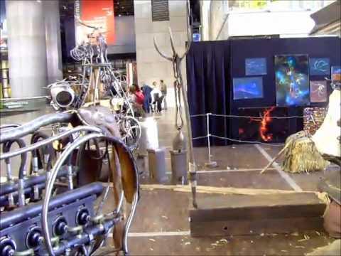 Le théâtre de la Toupine à la fête de la science 2011