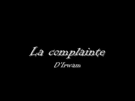 La complainte