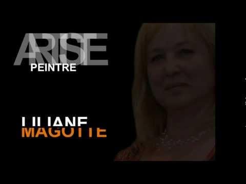 Vidéo de présentation des oeuvres abstraites de Liliane Magotte