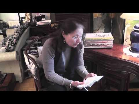 201210 ACTU-tv Deashelle, chroniqueuse sur Art et Lettres dans l' ACTU-tv d'octobre