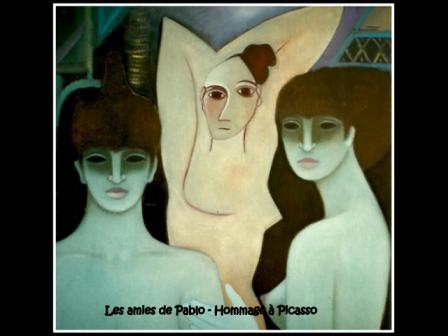 Un choix de mes tableaux sur plus de 30 ans d'activités picturales