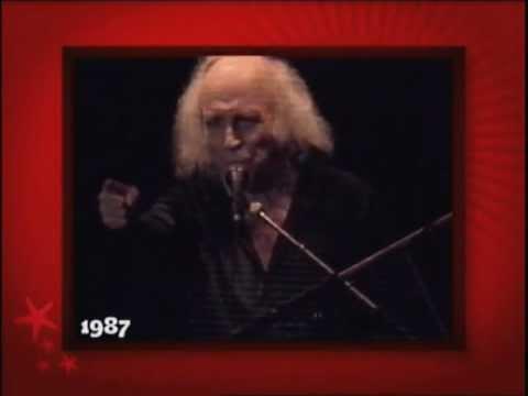 Léo Ferré engueulant le public aux Francofolies (1987)