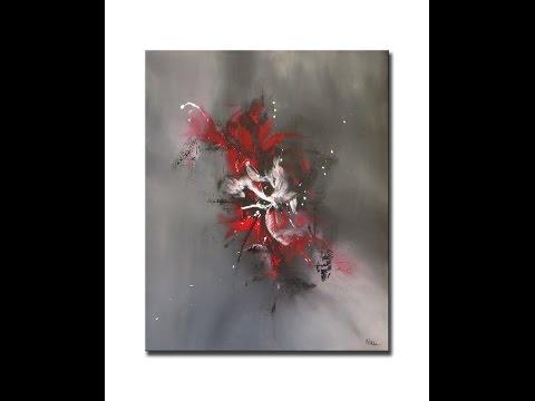 Peintures abstraites acryliques - Althea