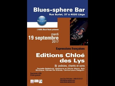 Récital au Blues-sphere Bar ( Septembre 2017 )