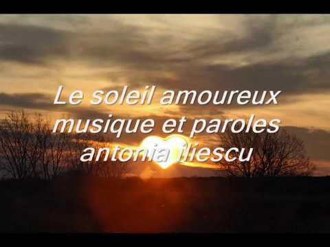 Le soleil amoureux - antonia iliescu