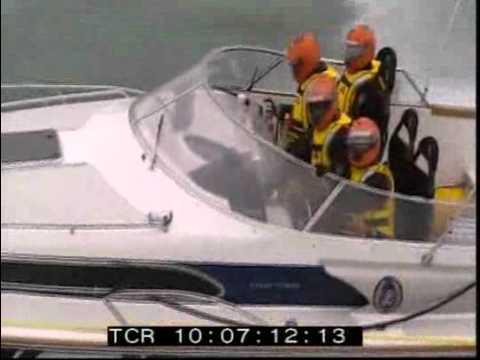 Flying Flipper in 2008 Round Britain start.