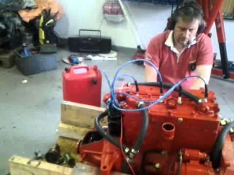 Okända M's motor