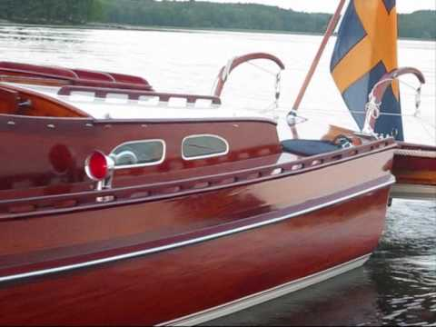 Classic Wooden Boat CG Pettersson **FOR SALE**