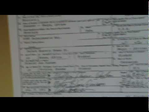 Obama 假出生证 Birth Certificate Fake BUSTED. CHECKMATE GAME OVER!!