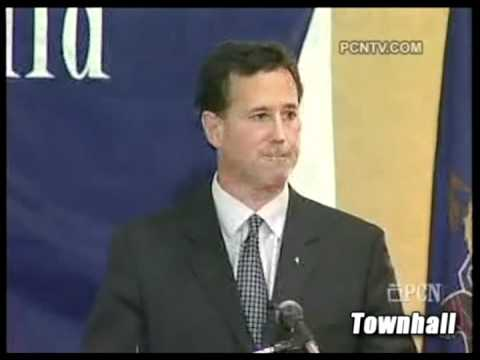 "Rick Santorum's ""Real Concerns"" About The Tea Party"