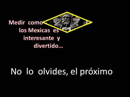 Proximo 12 de diciembre Caminando como los Mexicas