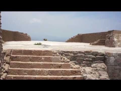 Pañhu. Centro ceremonial de la cultura Xajay. Estado de Hidalgo.