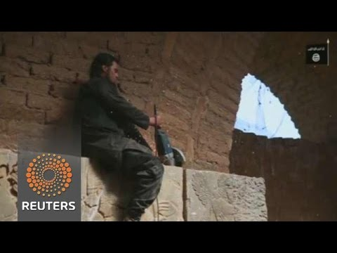 'IS destruction of Nimrud' on video