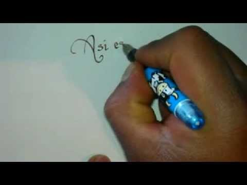 cómo hacer una pluma caligráfica , home made caligraphy pen