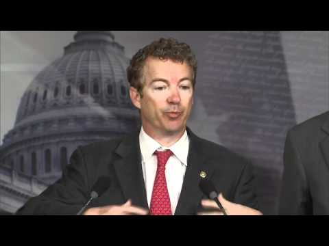 Sen. Rand Paul Unveils Medicare Reform Plan at Press Conference - 03/15/12