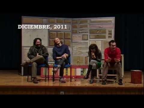 EN 2012: OBRA DE TEATRO: 2 VESTIDOS PARA UN FUNERAL, esta obra de teatro es previa a la conformación del grupo solidario en el centro escolar: ITINERARIO FORMATIVO.