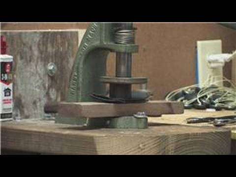 Furniture Upholstery : Upholstery Techniques