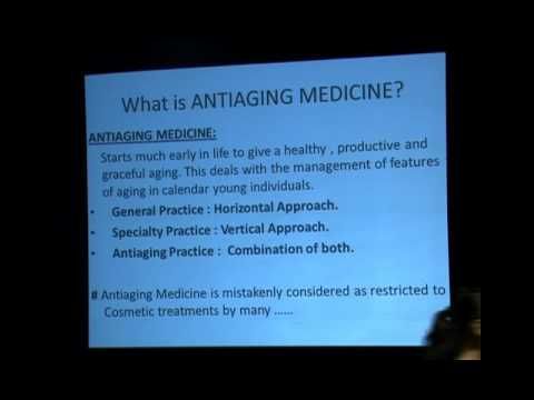 What are Antiaging Medicines? from Dr Deepak Chaturvedi