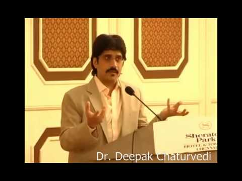 Dr Deepak Chaturvedi on Antiaging and Obesity at the Life Alive Event