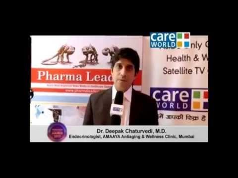 Dr Deepak Chaturvedi's interview at the 7th Annual Pharmaleaders Award