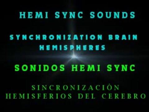 SONIDOS HEMI SYNC PARA EQUILIBRAR HEMISFERIOS CEREBRO, HEMI SYNC SOUNDS TO BALANCE BRAIN HEMISPHERES