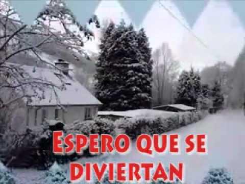 FELIZ NAVIDAD! (Canción de John Lenon cantada por Celine Dion- con subtitulos en español).avi
