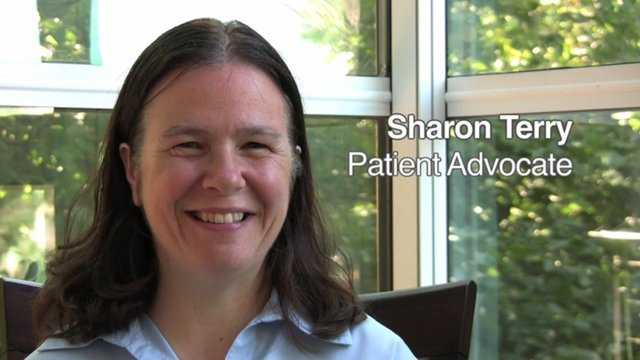 Sharon Terry, Patient Advocate