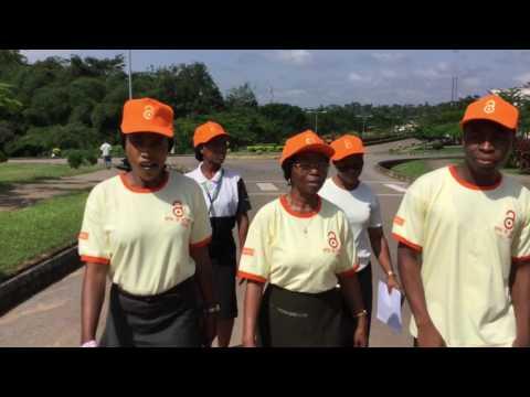 Open Access Walk at Elizade University, Ilara-Mokin, Nigeria