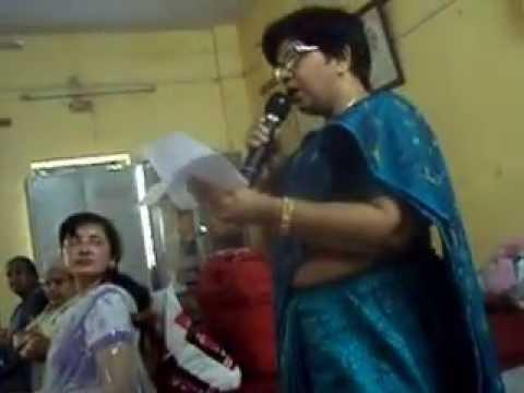 am singing ghazal on mother's day in Akhil bhartiya mahila ashram