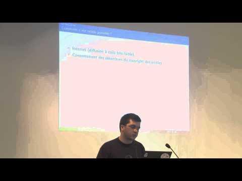 Conférence sur le libre accès - La présentation de Pablo Rauzy - École Normale Supérieure - 6/05/20…