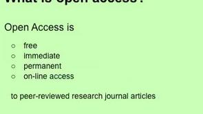Open Access: 