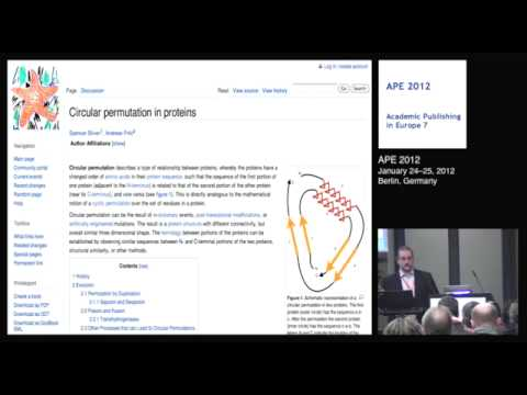 Transforming the way we publish research - a talk at APE 2012