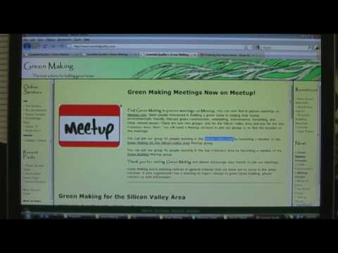 Introducing Green Making--The Local Website for Building Green Homes