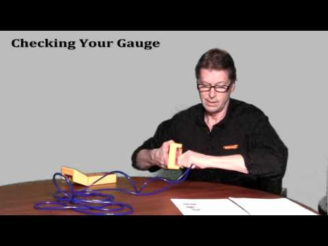 Exercise 6 - Checking Your Gauge