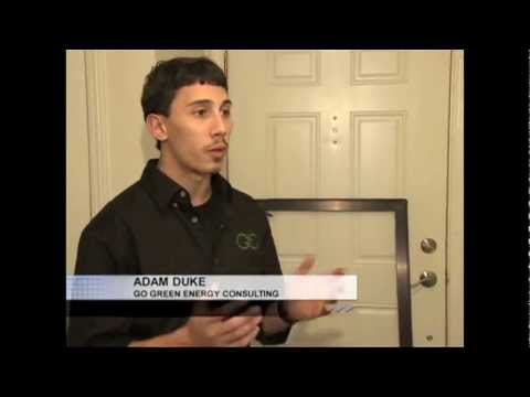 Adam Duke (Go Green Energy Consulting) with Robin Schwartz on Fox 2 News Detroit