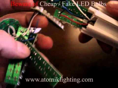 Beware of Cheap / Fake LED bulbs