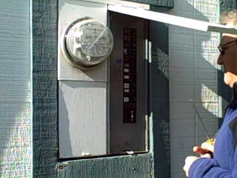 How to Install a Home Electric Power Meter - ENVI II (1 of 2)