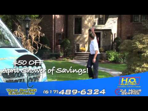 Newton, Brookline, MA Electrician - Electrical Contractor Emergency Service