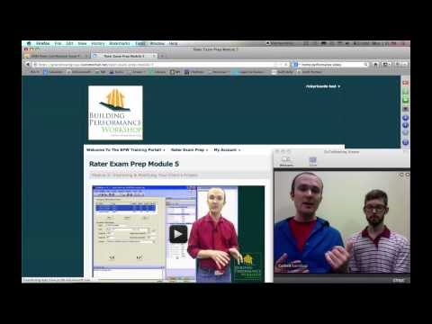 Rater Exam Prep: Live Tour of the RESNET Training Course with Corbett Lunsford & John Bergman