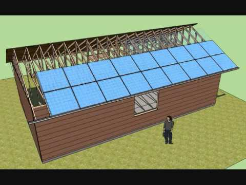New Solar Roofing Concept