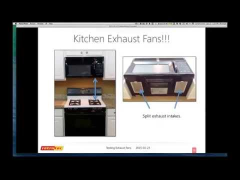 Accurate Tests for Exhaust Fans, HRVs & ERVs (January 23, 2015)
