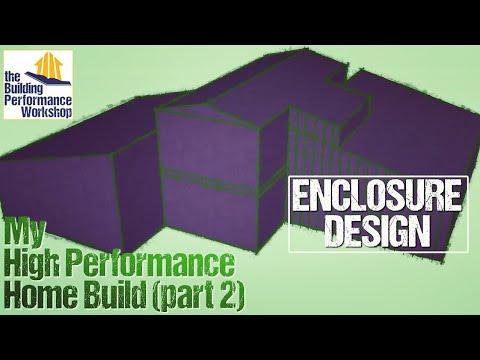 Our Performance-Tuned Home Build Pt2: Enclosure Design