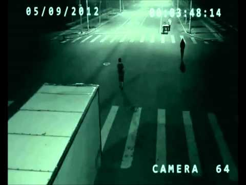 Teleportation In china captured by Surveillance Camera
