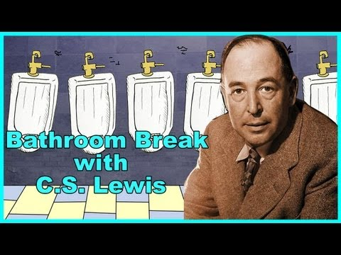 C.S. Lewis - Bathroom Break