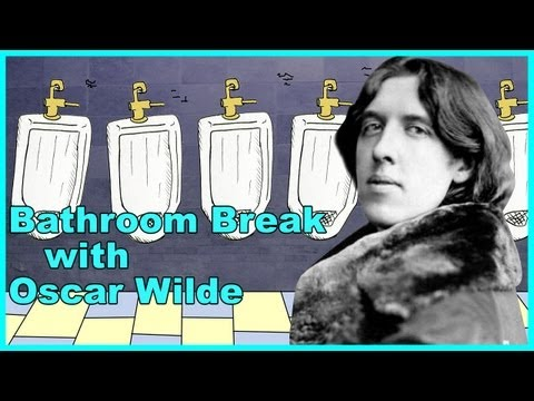 Oscar Wilde - Bathroom Break