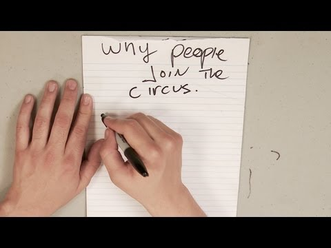 Why People Join The Circus - Doodleosophy