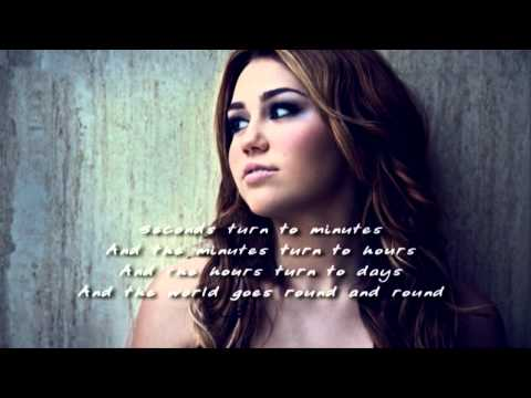 Miley Cyrus - Restlessness - Lyrics - (DEMO) - New Song 2011