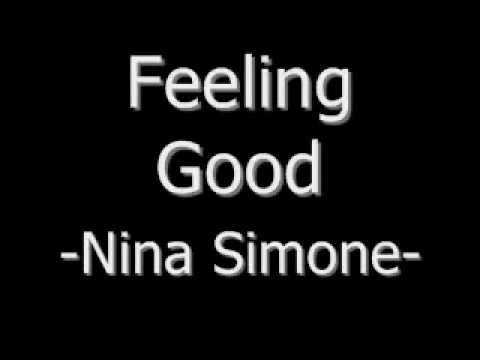 Feeling Good -Nina Simone (Lyrics)