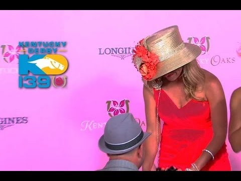 Kentucky Derby 139 - Fashion Show Marriage Proposal